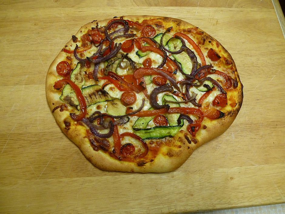 Chargrilled Vegetable Pizza