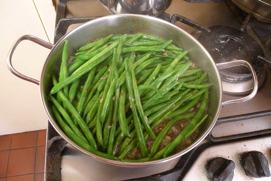 Gujarati Green Beans